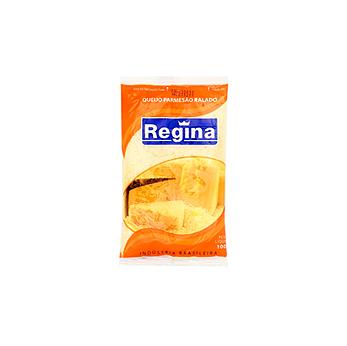 Queijo Ralado Parmesão Regina 100g  - Grupo Borges Atacadista