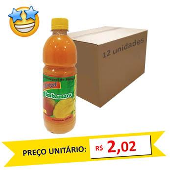 Suco Concentrado Manga Imbamara 500ml (Caixa c/ 12)