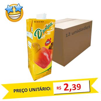 Suco de Caju D´Polpa 1l (Caixa c/ 12)