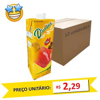 Suco de Caju D´Poupa 1l (Caixa c/ 12)