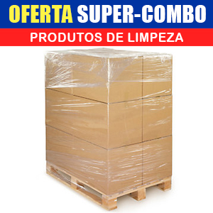 SUPER-COMBO Produtos de Limpeza (120 Itens)  - Grupo Borges Atacadista
