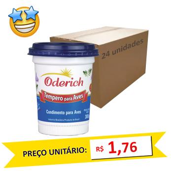 Tempero p/ Frango Oderich 300g (Caixa c/ 24)