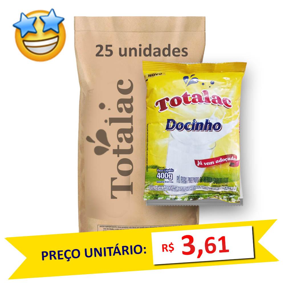Composto Lácteo Totalac 400g (Fardo c/ 25)  - Grupo Borges Atacadista