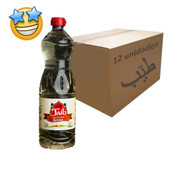 Vinagre de Arroz Taíb 750ml (Caixa c/ 12)
