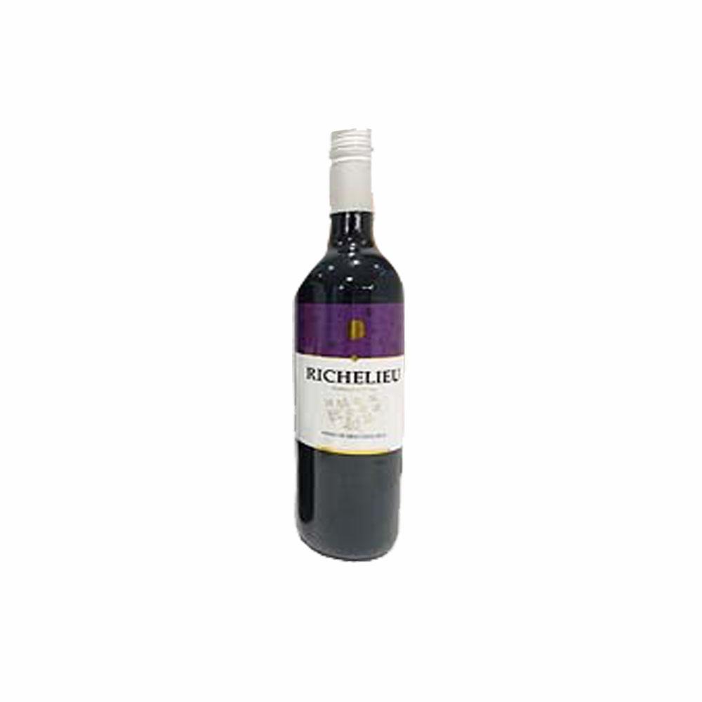 Vinho Tinto Seco Richelieu 750ml (Caixa c/ 12)