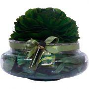 Aquário Aromático Grande com Rosa Magic Summer - Natural Gifts