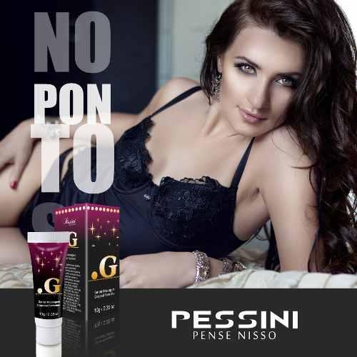 Excitante Feminino Ponto G 10g Pessini
