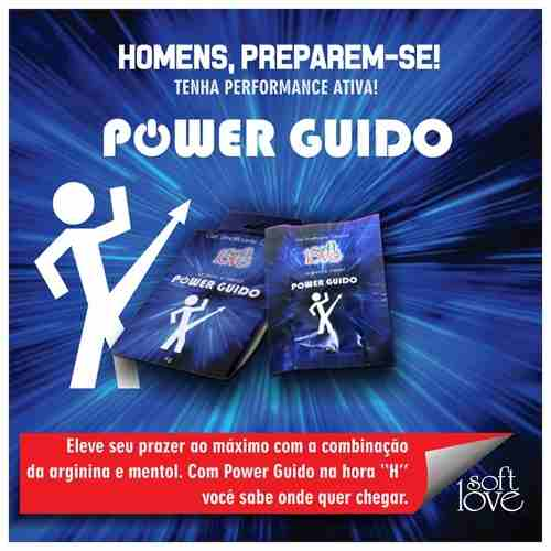Gel Masculino Power Guido Soft Love