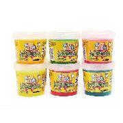 Slime Caixa com 6 unidades 180g Kimeleca Acrilex