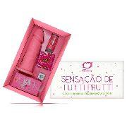 Kit Erótico Sensação De Tutti Frutti Bolinha e Preservativo Sexy Fantasy