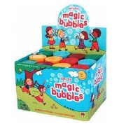 Brinquedo Bolhas De Sabão Caixa Com 12 Unidades P/festas Lembrancinha