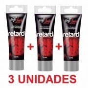 Kit 3 Unidades Retardante  Masculino Retard Surpreenda 15ml Soft Love