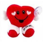 Almofada Coração Eu Te Amo Pelucia Presente Namorados 16x13cm Fizzy