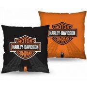 Almofada Quadrada Harley Davidson Presente Brasfoot