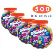 Big Chicle Danclets Ball Pote  com 500 unidades de Bola de Chicletes Danilla