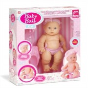 Boneca Baby Ball Xixi com Acessórios Roma Brinquedos