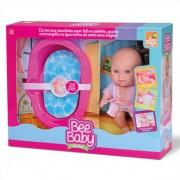 Boneca Infantil Baby Banho Com Acessórios Bee Toys