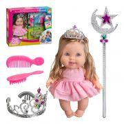 Boneca Princesa Com Acessórios Bee Toys