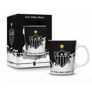 Caneca Porcelana Premium na caixa 280ml - Atlético Mineiro Brasfoot