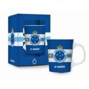 Caneca Porcelana Premium na caixa 280ml - Cruzeiro Brasfoot