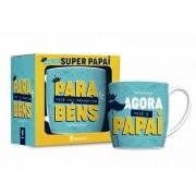 Caneca Porcelana Urban 360ml na caixa - Promovido a Papai Brasfoot