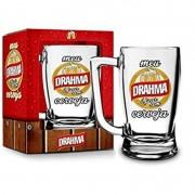 Caneca Taberna de Chopp Drahma Sátiras Cervejas 340ml Brasfoot