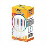 Caneta Esferográfica Cristal Up Caixa com 32 Unidades Sortida Bic