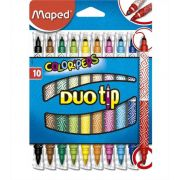 Caneta Hidrográfica 10 cores Color Peps Duo Tip Maped