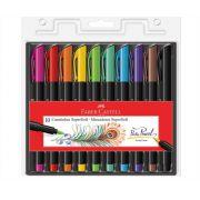Caneta Pincel Brush Pen 10 Cores SuperSoft Faber Castell