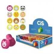 Carimbo Pedagógico Stamp Animais 1CX com 24 unidades Cis