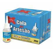 Cola do Artesão Silicone Líquido Caixa com 12 colas Make Mais