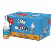Cola do Artesão Silicone Líquido Caixa com 24 colas Make Mais