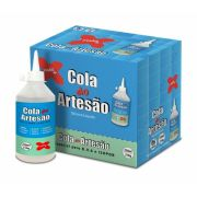 Cola do Artesão Silicone Líquido Caixa com 6 colas Make Mais