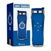 Copo Térmico Cruzeiro Serie Ouro 450ml Brasfoot
