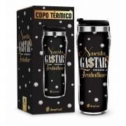 Copo Térmico New Nascida Para Gastar 450ml Presente Amiga Brasfoot