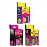Excitante Cream Ball Bolinha e Creme Sensações Kit com 3 Unid Soft Love