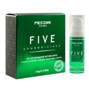 Excitante Unissex óleo Afrodisíaco Five Aphodisiacs  15g Pessini