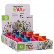 Furador Eva Scrapbook Papel 25mm Caixa com 12 Unidades Leo Arte