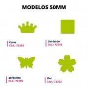 Furador Eva Scrapbook Papel 50mm Caixa com 4 Unidades Leo Arte