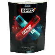 Kit 2 gel Lubrificante Íntimo Sensações Fire e Ice 40g cada K med