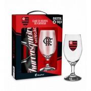 Kit Flamengo Avental e Taça Presente Brasfoot