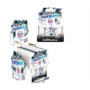 Lâminas Refrescantes Caixa com 12 Unid Extra Forte Papermint Danilla