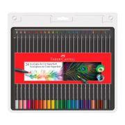 Lápis de Cor 24 cores redondo SuperSoft Ecolápis Faber Castell
