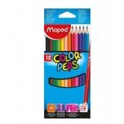 Lápis De Cor Color Peps Classic 12 Cores Maped