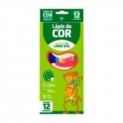 Lapis De Cor Linha Eco 12 Cores Formato Sextavado Leo e Leo