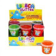 Slime Leleca Glitter Gelatinosa Caixa com 12 unidades Balcão das Mágicas