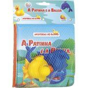 Livro de Banho Infantil Aventuras no Banho com 2 Bichinhos Todo Livro