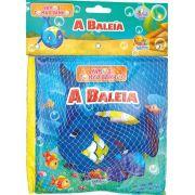 Livro de Banho Do Bebê - Vamos Tomar Banho! A Baleia com 1 Bichinho Todo Livro