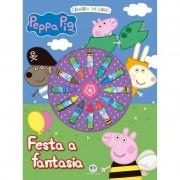 Livro Para Colorir - Peppa Pig - Festa a Fantasia Ciranda Cultural
