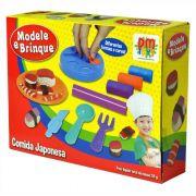 Massinha De Modelar Comida Japonesa Modele E Brinque DM Toys